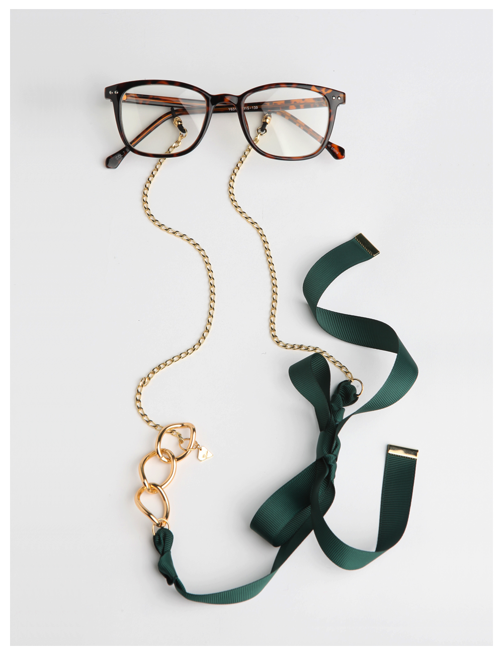 NANA BONNY / deep green_EYE GLASS CHAIN