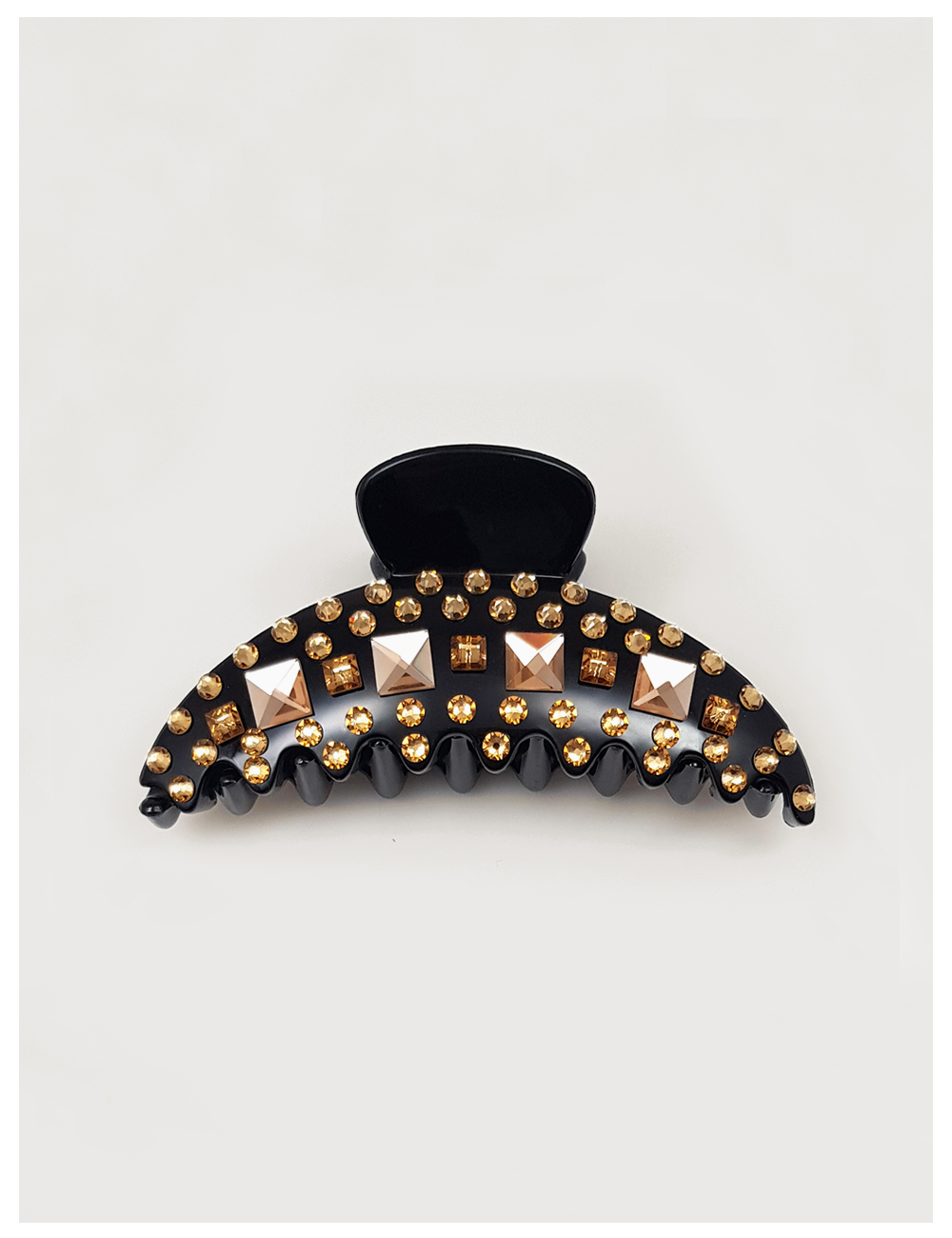 Must be luxy hair claw clips_champagne