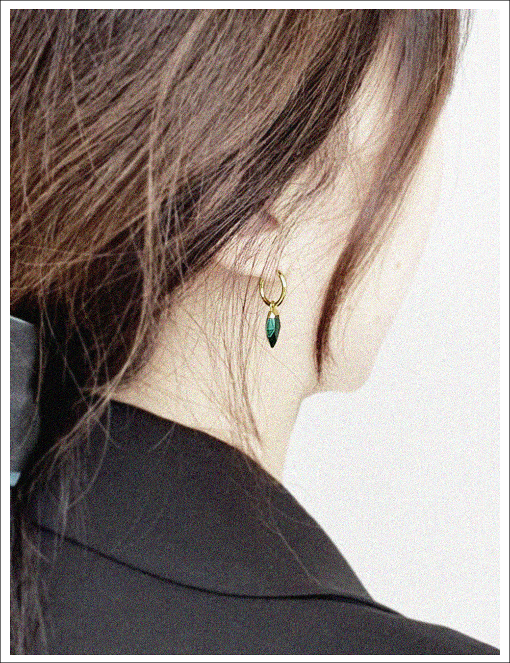 REFIND GREEN Earring