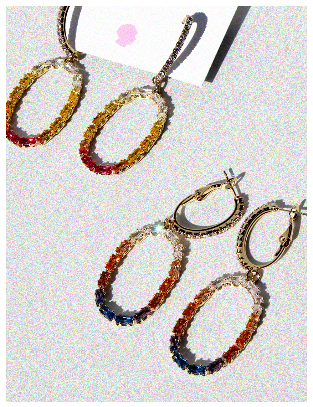 FANCY ELLIPSE Earring