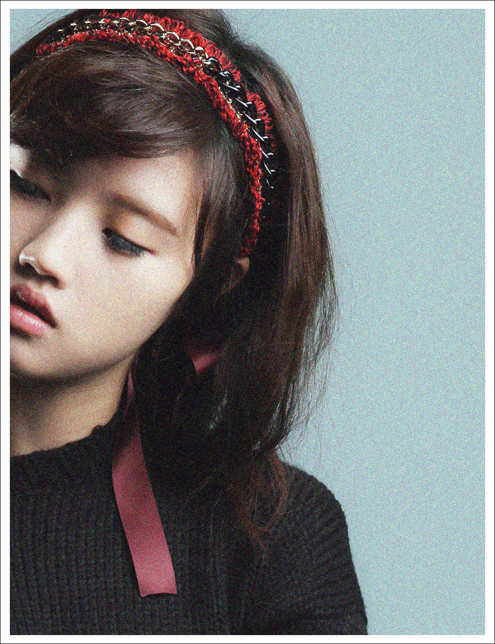 RETRO MUSE Hairband_Red