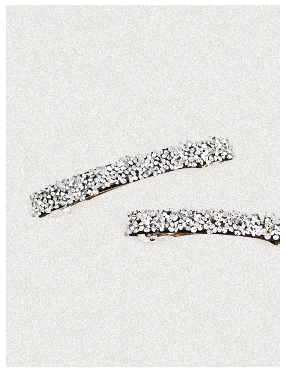 chic sliver hairpin