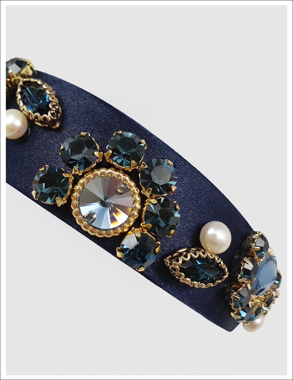 GLAM BLUE FANTASY Hairband