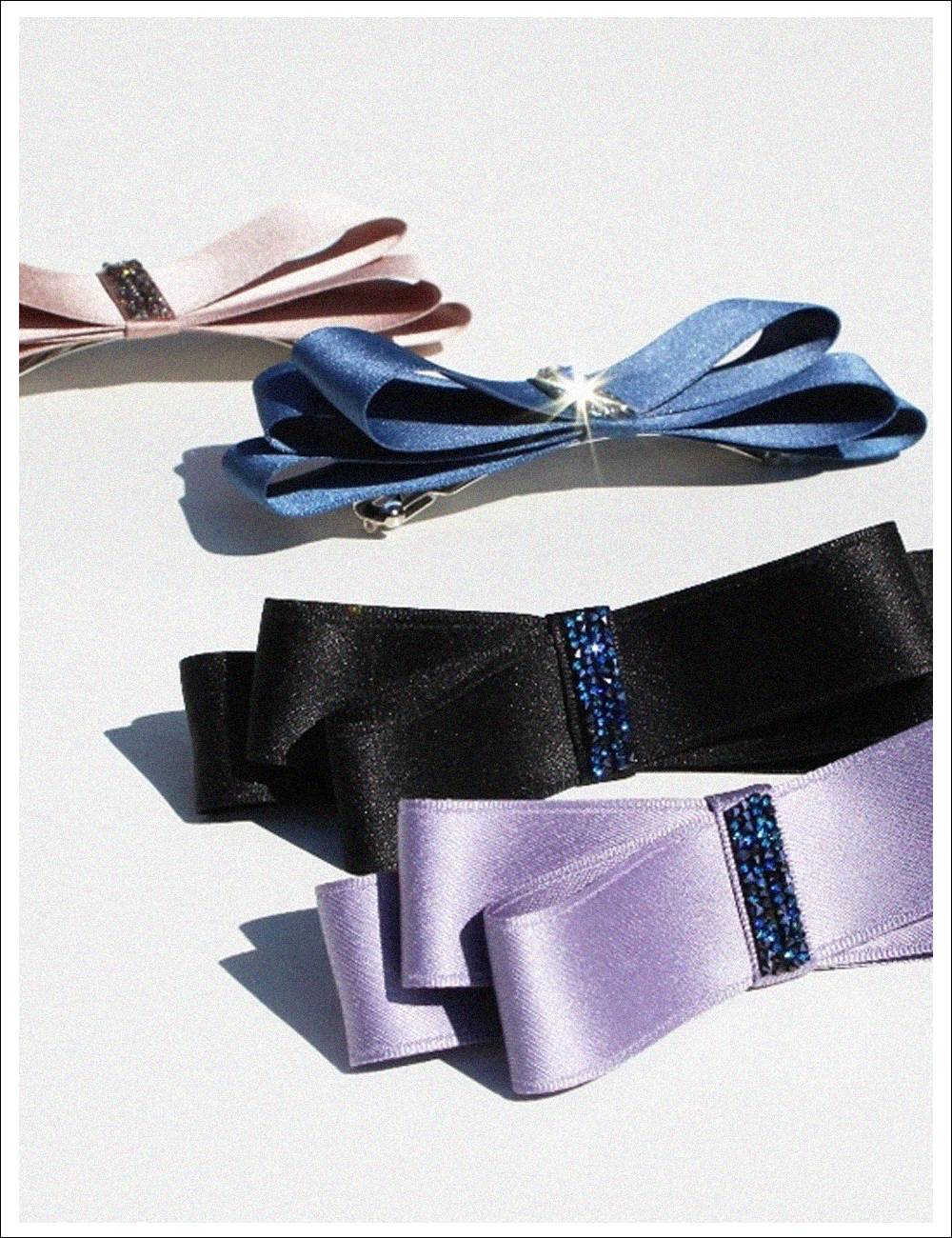 TWINKLE UP RIBBON Hair pin
