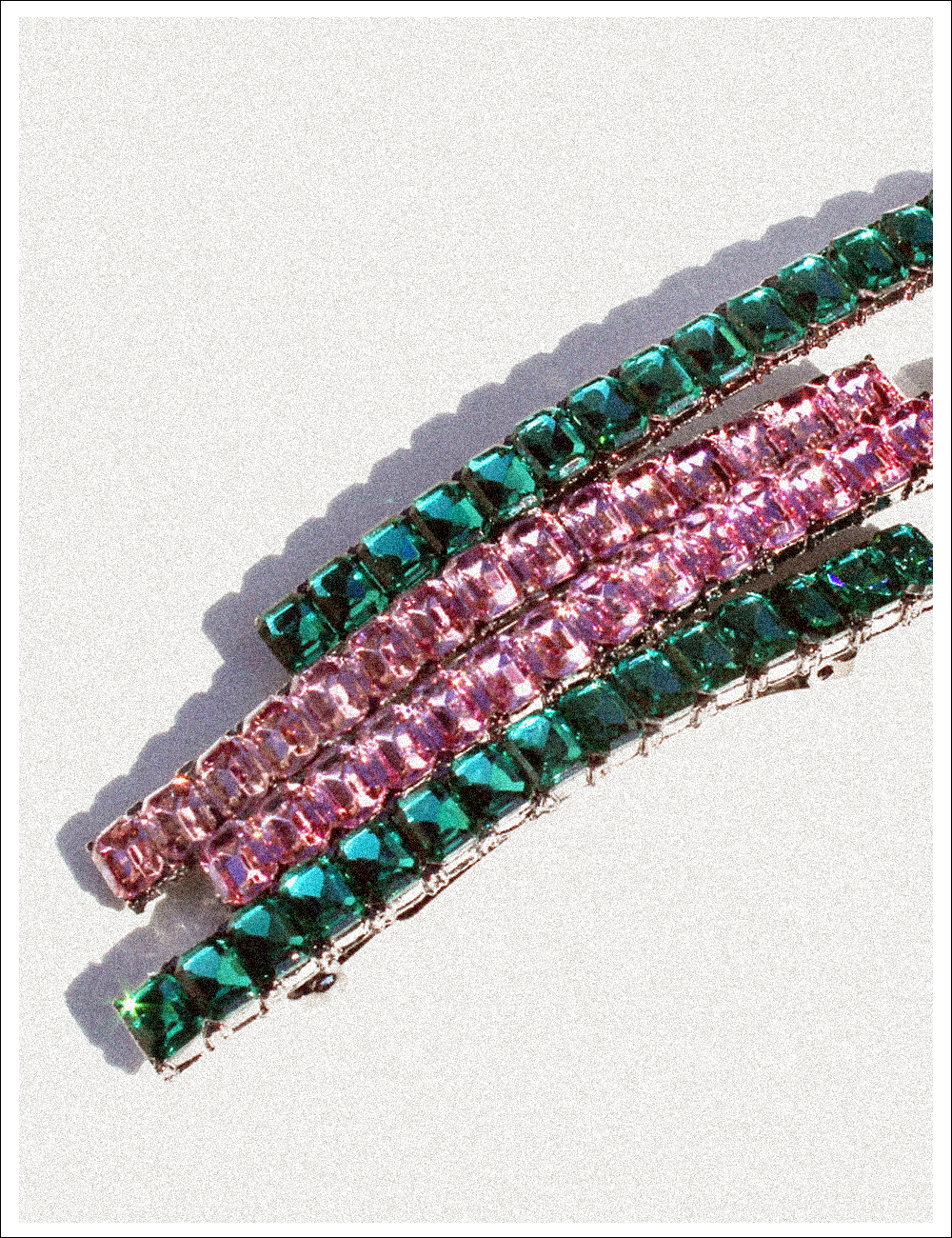BRIGHT FIT CRYSTAL Hairpin(8)