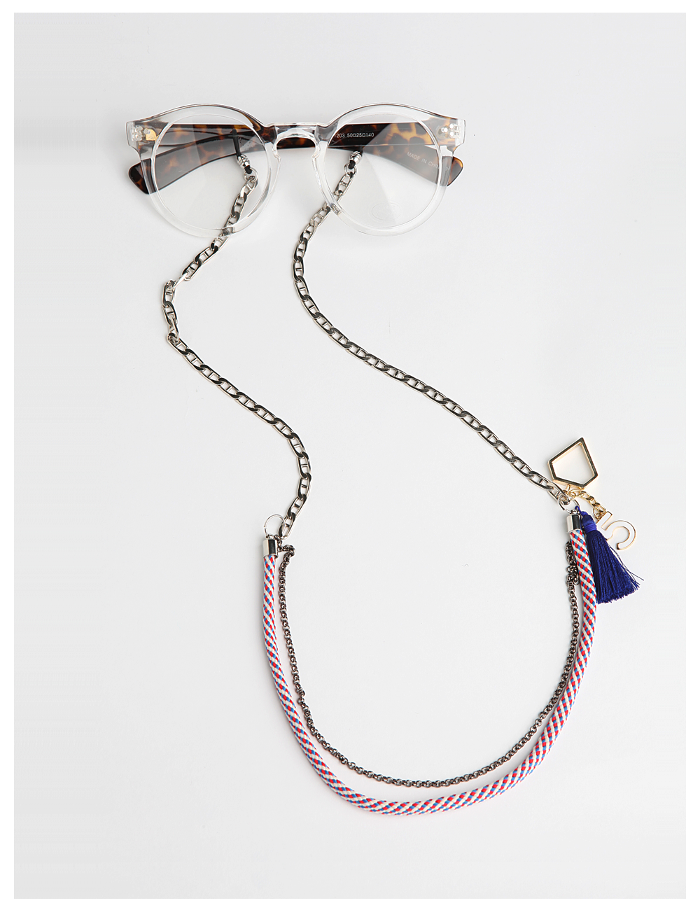 HIPSTER RIO / blue_EYE GLASS CHAIN