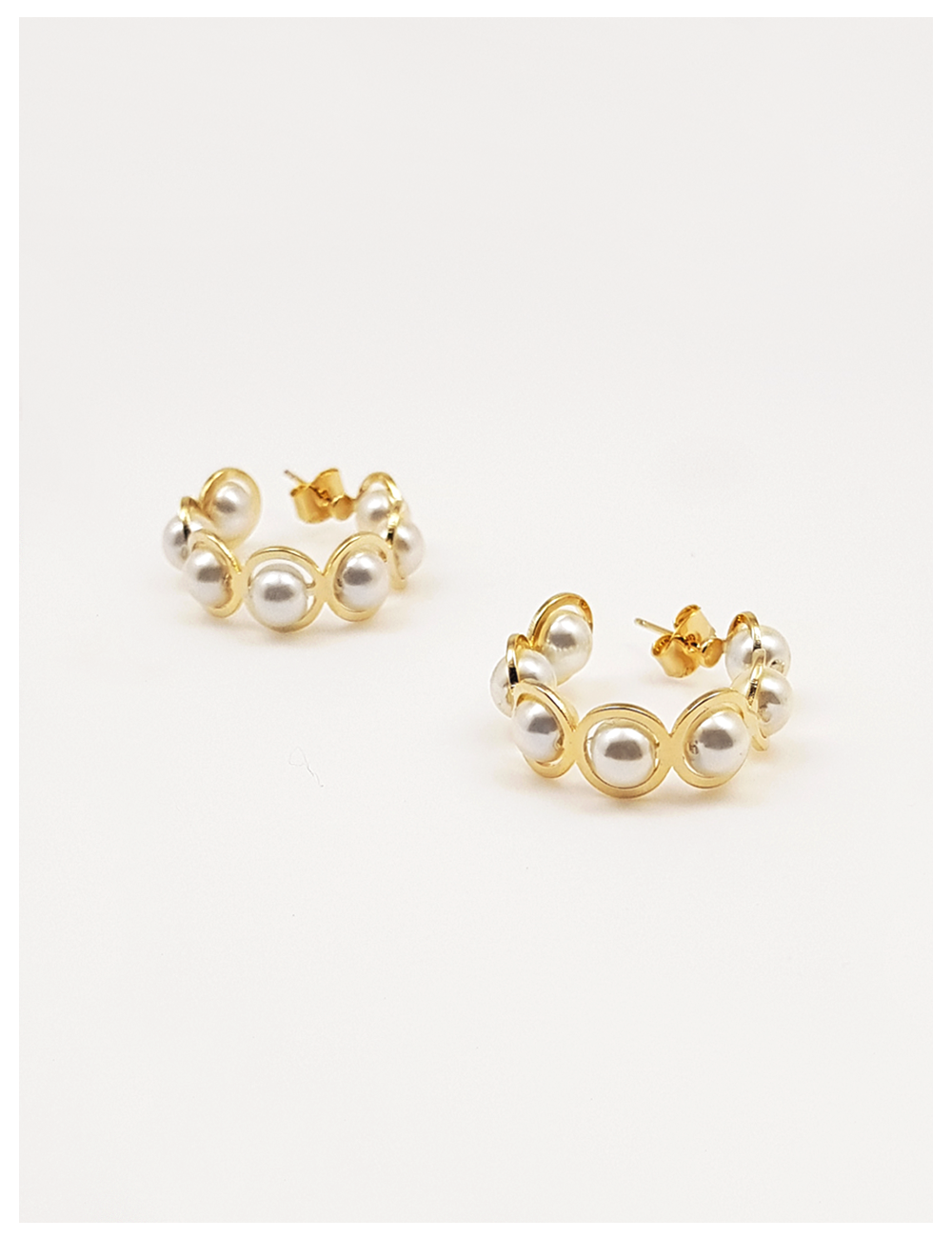 ping pear earring
